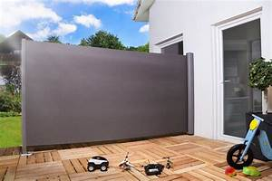Seitenmarkise sichtschutz sonnenschutz windschutz 180 x for Markise balkon mit drei d tapeten