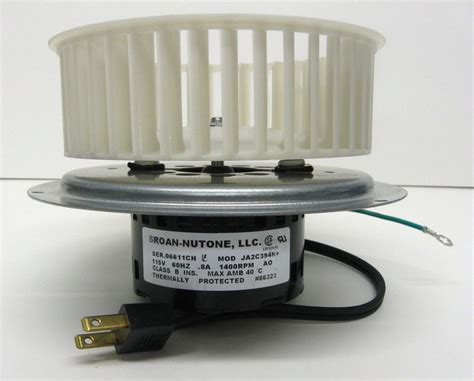 0696b000 genuine nutone oem vent bath fan motor wheel for