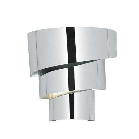 endon lighting everett everett 1wbch polished chrome wall