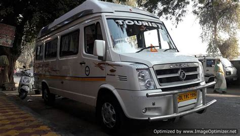 In new delhi india, we offer 41 to 45 seater mercedes bus with and washroom on hire in different cities in. 8 Seater Tempo Traveller Hire - Book Luxury Van and Cab India