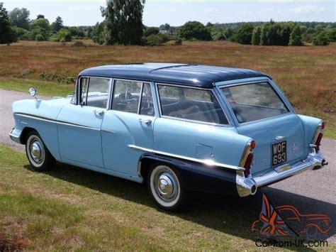 1958 Vauxhall Victor F Type Estate, Very Rare