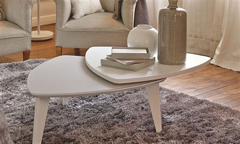 table basse triangulaire amovible antoine motard home center