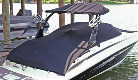 Catamaran Boat Suspension by Hangtyte Cover Suspension For Boats With Ski Towers