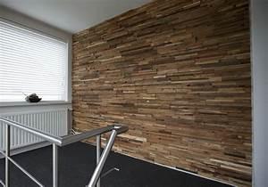 Wandverkleidung Holz Anbringen