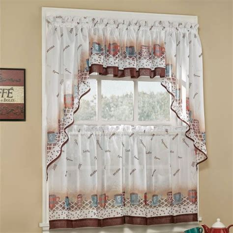 kitchen curtain swags kitchen and decor
