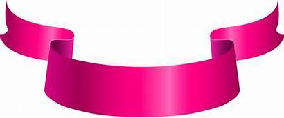 Banner Ribbon Clipart Transparent Deco Pngio