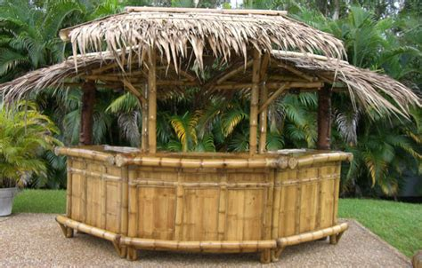 Tropical Tiki Huts by Hometary Tiki Outdoor Furniture