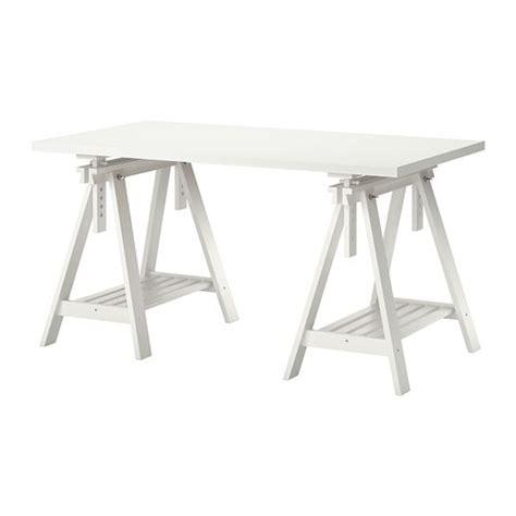 bureau d architecte ikea linnmon finnvard table blanc ikea