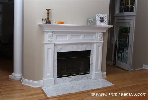 fireplace mantels trim team woodworking molding