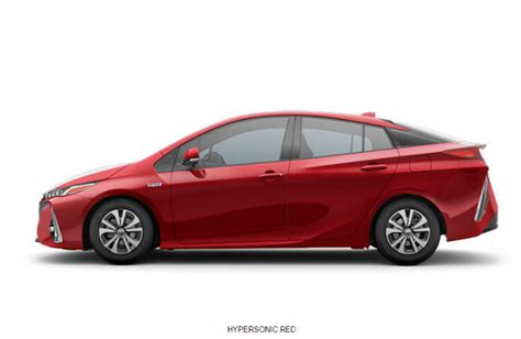 What Colors Does The Prius Prime Come In?