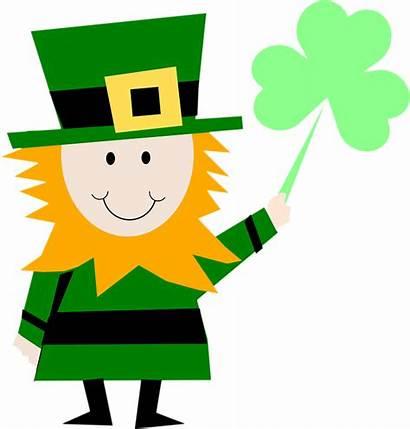 Shamrock March Character Pixabay Irish Luck Clip