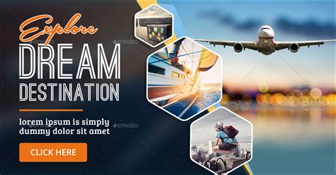 tours travels banners  doto graphicriver