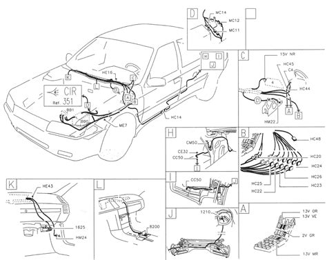 Peugeot Glow Relay Wiring Diagram by Peugeot 605 Xu10 J2te Engine Multipoint Injection Bosch