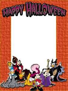 Disney Halloween Clip Art Frame