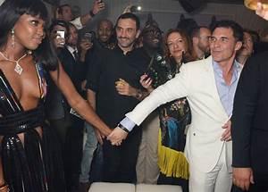Naomi Campbell and Riccardo Tisci Photos Photos - Naomi ...