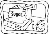 Coloring Sugar Pages Template Celebrate Sugarcane Glider sketch template