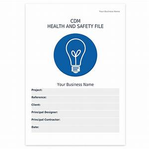 Cdm health and safety file template darley pcm for Cdm health and safety file template
