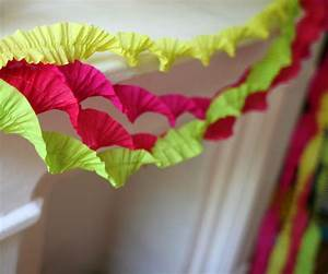 crepe paper decorations Domesticspace