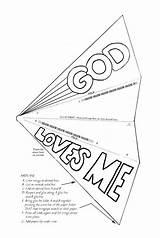 God Loves Sunday Crafts Printable Coloring Jesus Pages Printablee Knows sketch template