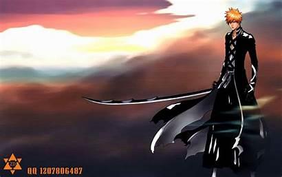 Ichigo Bankai Kurosaki Bleach 4b Anime Wallpapersafari