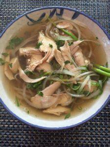 chicken pho noodle soup recipe pho ga viet world kitchen