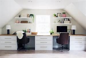 Ikea Schreibtisch Hack : 14 inspirierende ikea desk hacks die sie lieben werden ~ Watch28wear.com Haus und Dekorationen