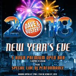 party venues los angeles new years at dave and busters nyc nyc new years 2018