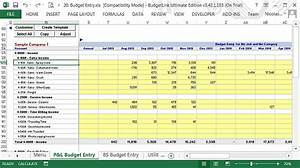 crop budget template - free monthly job budgets cash flow forecasts data file