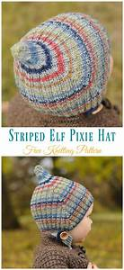 pixie hat free knitting patterns