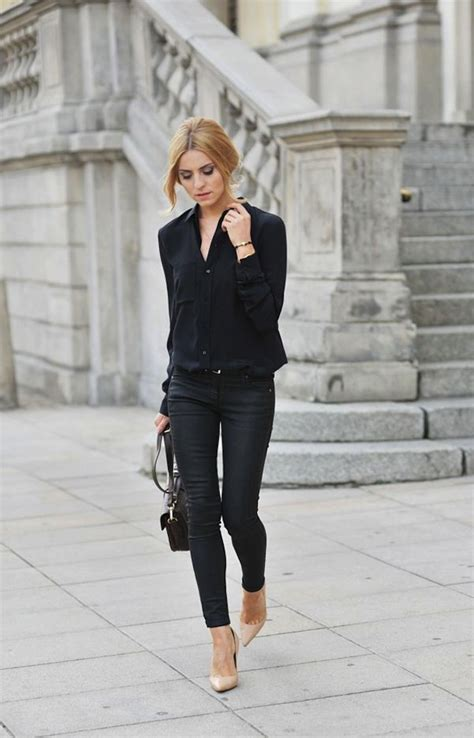All Black Outfit Ideas For Work 2018 | FashionTasty.com
