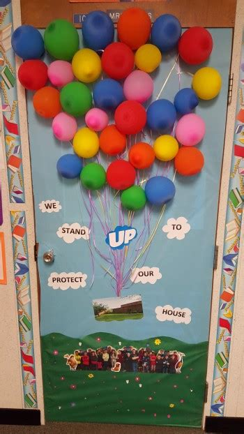 anti bullying door decorating contest winners announced