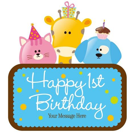 Vector Child Birthday Card  Free Vector Graphics All