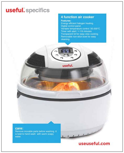 fryer cooker air multi cooking rotisserie useful liven digital frying amazon