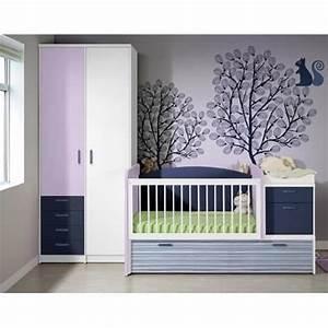 chambre couleur bleu lavande With chambre bébé design avec fleur de bach achat en ligne