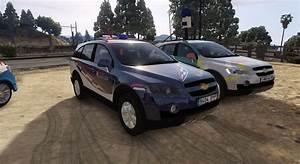 2006 Chevrolet Captiva C100 Vcdi Uapo Policia Local Zaragoza  Fivem-replace