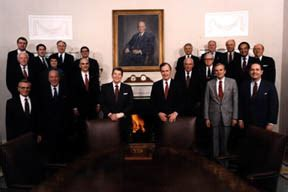 Bush Administration Cabinet by Administration Cabinet Members Ronald