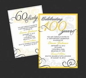 Halloween Printable Invitations Free Printable 90th Birthday Invitations Template