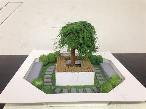 landscape model making advance diploma  interior design