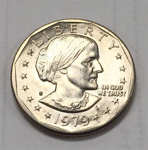 1979 susan b anthony dollar value bjstamps 1979 s 1 susan b anthony dollar ebay