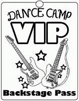 Coloring Dance Dancing Camp Tap Adults Popular Coloringhome sketch template