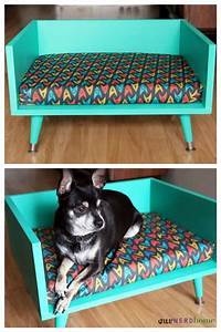 a classy mid century star trek pet bed neatorama With classy dog bed