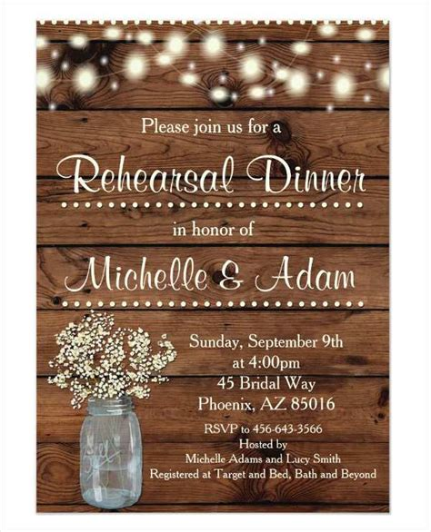 Invitation Card Template For Annual Dinner Cards Design