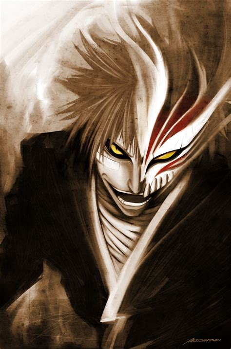 hollow ichigo manga bleach desenho de olhos anime