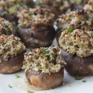 Sausage-Stuffed Mushrooms | Recipes | Barefoot Contessa