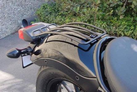meancycles rear fender rack black  rebel