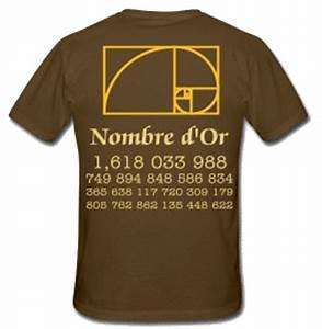 Compas D Or : t shirt nombre d 39 or phi math ~ Medecine-chirurgie-esthetiques.com Avis de Voitures