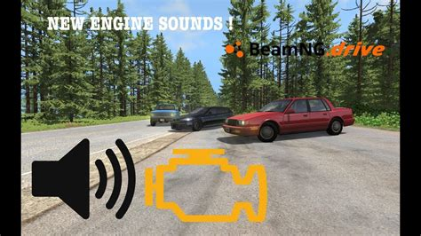 New Engine Sounds In Beamngdrive !  Beamngdrive Update