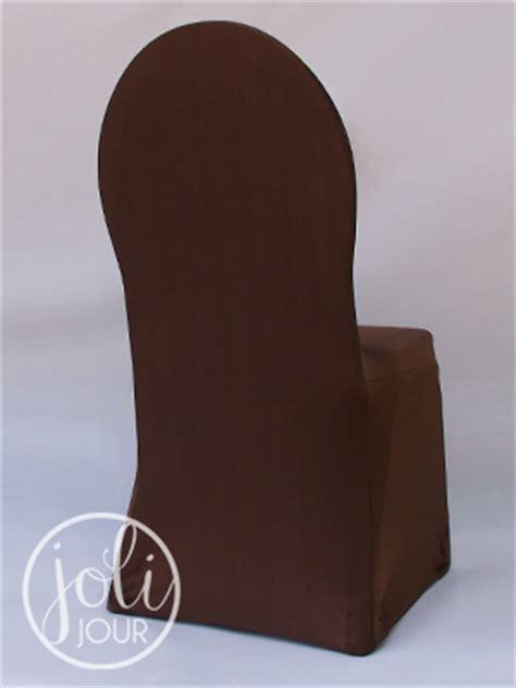 location housse de chaise rouen location housses de chaise marron chocolat en lycra joli jour