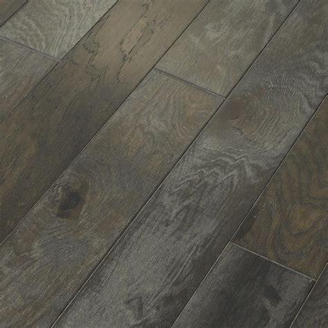hardwood flooring engineered shaw majestic hickory dry creek 3 8 in x 5 in wide x random length engineered click hardwood