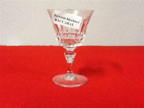 bicchieri di baccarat servizio bicchieri baccarat il passato ritrovato